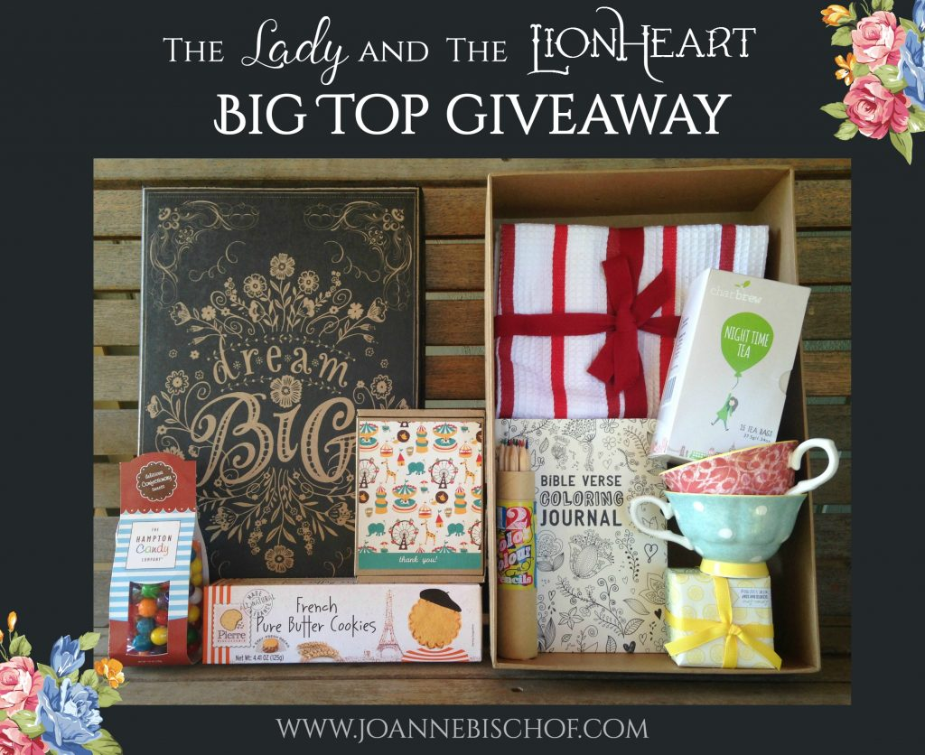 The Lady and the Lionheart - Big Top Giveaway